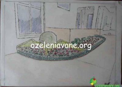 Проект за озеленяване на жилищен комплекс в кв. Симеоново, София